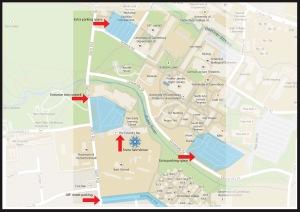 Venue parking map final